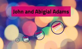 John and Abigial Adams