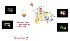 Copy of MÉTODOS DE SOLUCIÓN DE PROBLEMAS