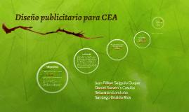 Diseño publicitario para CEA