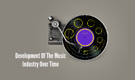 Development of the music industry over time