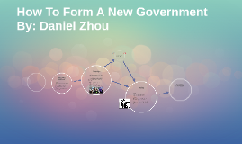 How To Form A New Government