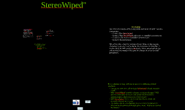 StereoWiped - Knapp presentation