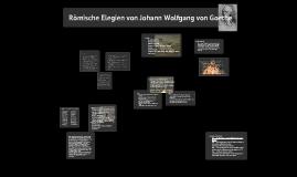 5. Elegie von Goethe