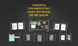 Lindsey Awtrey's Professional Artifacts
