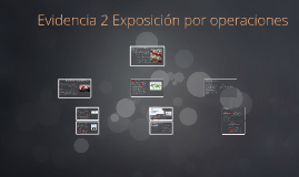 Copy of Evidencia 2 Exposición por operaciones