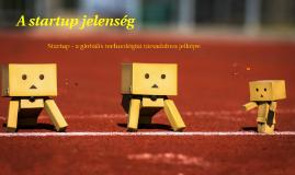 A startup jelenség