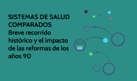 Copy of SISTEMAS DE SALUD COMPARADOS