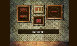Religion 1 - intro