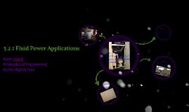3.2.1 Fluid Power Applications