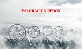 VALORACIÓN REDOX