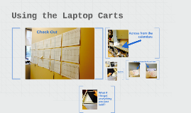 Using the Laptop Carts