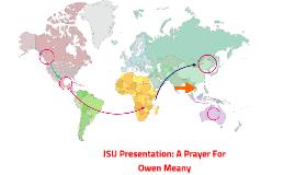 ISU Presentation: A Prayer For Owen Meany