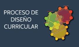 PROCESO DE REDISEÑO CURRICULAR