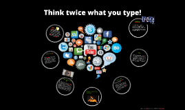 Think twice what you type!