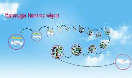 Matemagia: Números mágicos