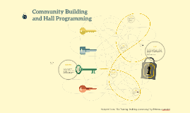 Community Building and Hall Programming