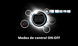Modos de control ON-OFF