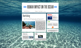 HUMAN IMPACT ON THE OCEAN