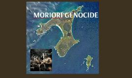 Moriori Genocide