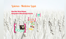 Copy of Lesiones - Medicina Legal