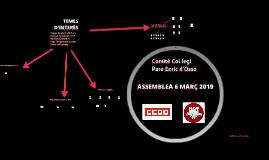 ASSEMBLEA 6 MARÇ 2019