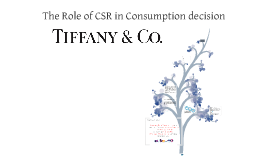 Copy of The Role of CSR in Consumption Decisions