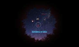 Astronomía en Galicia