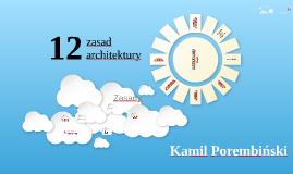 Dwanaście zasad architektury