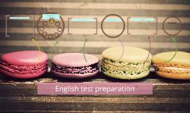 Copy of English test preparation