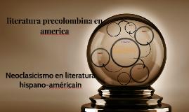literatura precolombina en america