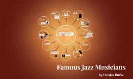 Famous Jazz Musicians