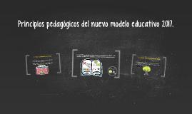 Principios pedagógicos del nuevo modelo educativo 2017.