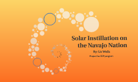 Solar Instillation on the Navajo Nation