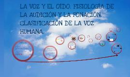 Fisiología del oído y la voz
