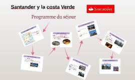 Santander y la costa Verde