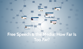Freedom of Speech & Social Media: How Far Is Too Far?