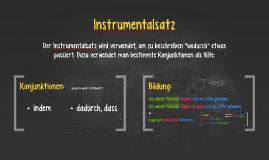 Instrumentalsatz