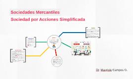 Sociedades Mercantiles: SAS