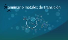 seminario metales de transición