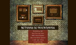 METODOS DE INVENTARIOS