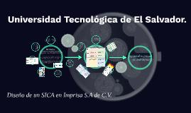 Universidad Tecnológica de El Salvador.