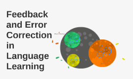 Copy of Feedback and Error Correction in Language Learning