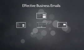 Effective Business Emails