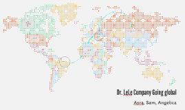 Dr. LeLe Company Going global