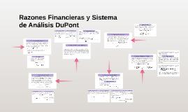 Razones Financieras y Sistema de Análisis DuPont