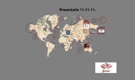 Presentatie 11.11.11.