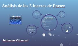 Copy of Análisis de las 5 fuerzas de Porter