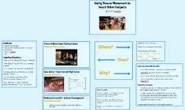 Using Dance/Movement to Teach Other Subjects