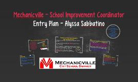 Mechanicville - School Improvement Coordinator