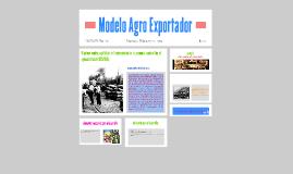 Modelo Agro Exportador